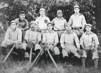 Charles E. Yarnall, Pennsylvania 1900 Baseball