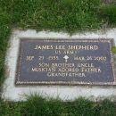 James Lee Shepherd gravesite