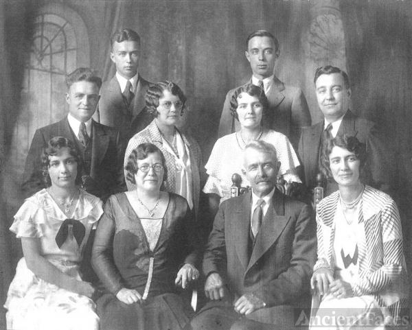 Joseph & Ida Bourgeois Family