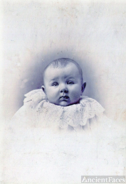 Weber or Brickley family  baby ? Wells Co., Indiana