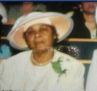 Marjorie Predeoux in a hat