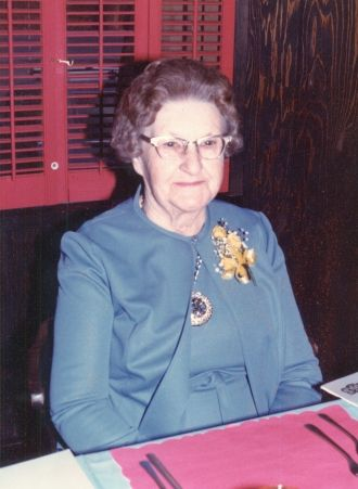 A photo of Dorothy (Simmons) Triebel