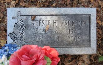 Reesie Jackson Gravesite