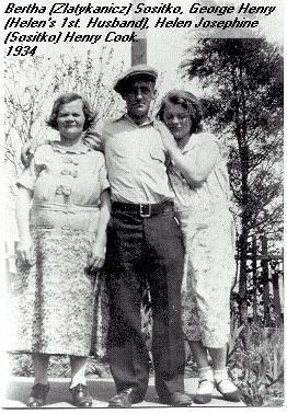 Bertha, George, and Helen