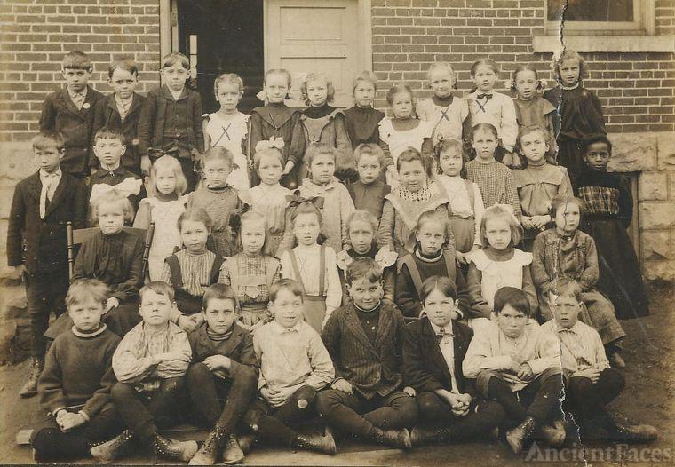 School, children named, 1 AA or biracial girl