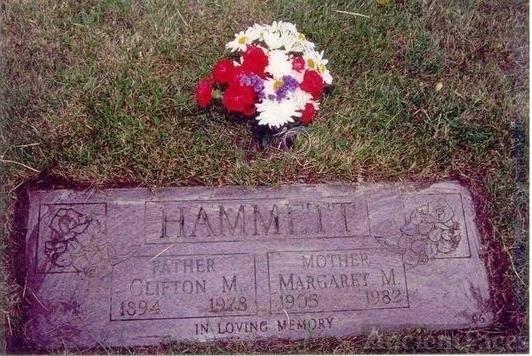 Hammett Headstone