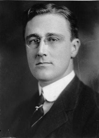Franklin D. Roosevelt, Asst. Secty. Navy