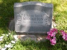 Jaunita Jelena (Smith) Middleton gravesite