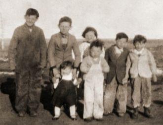 Frederick and Anna Hertel children