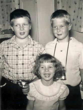Russell George Sanders Family