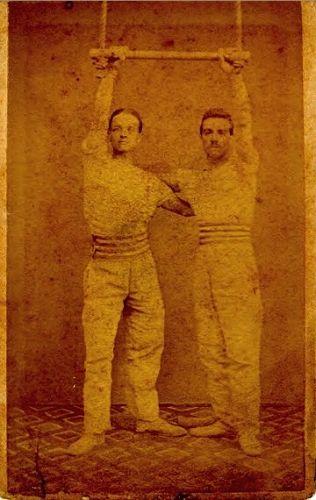 Acrobats in Paris, 1873