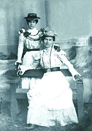 Mattie Lewis of Sheridan