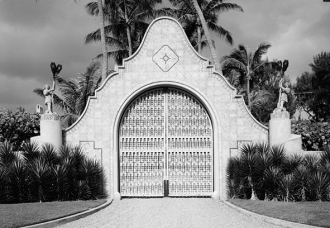 Mar-a-Lago Main Gate, Florida