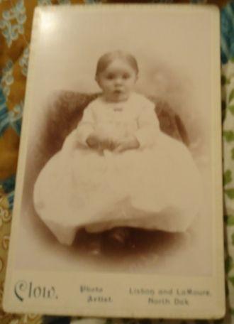 Unknown child, North Dakota