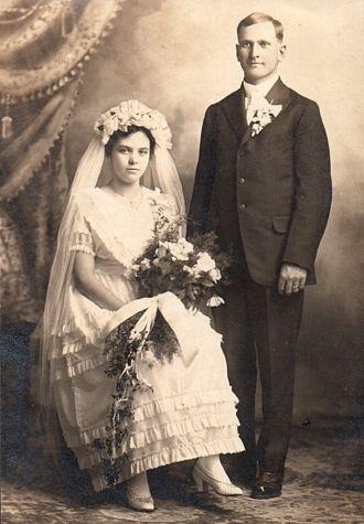 Theodore & Fanny Meta (Janssen) Roos Wedding