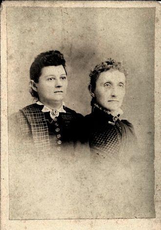 Helen Clutter and Sarah Boice