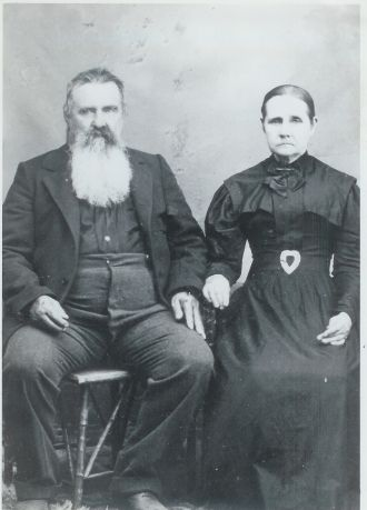 Robert Hardin Poe and Louisa Lambert Poe