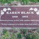 Karen Black Gravesite