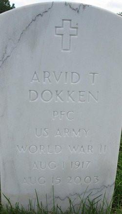 Arvid Dokken Grave