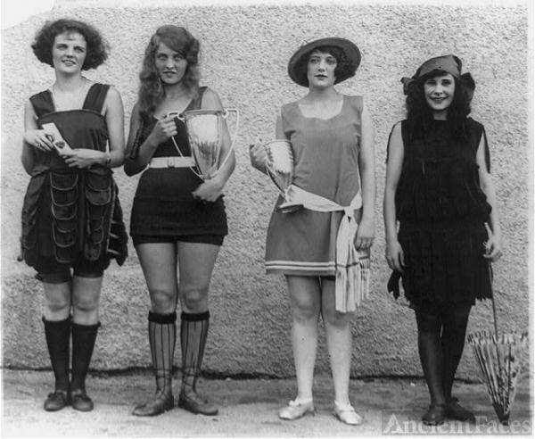 Gay Gatley, Eva Fridell, Anna Neibel, Iola Sinnerton