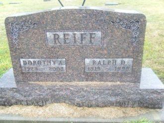 Dorothy and Ralph Reiff gravesite