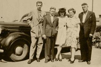 Anatole Groulx family