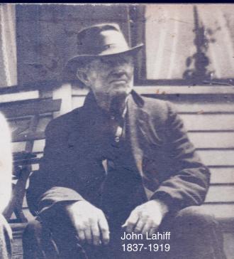 John Lahiff of Kilcorny County Clare, Ireland