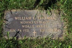 William L Thomas Gravesite