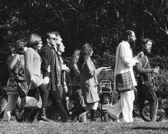 Allen Ginsburg, Golden Gate Park, 1967
