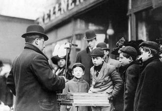 1910 New York City Christmas