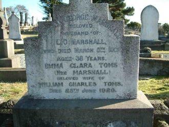 Emma Clara Mole gravesite