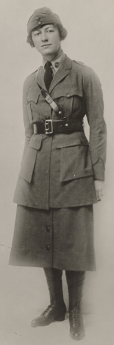 Mary Fitch Cushing in World War One.