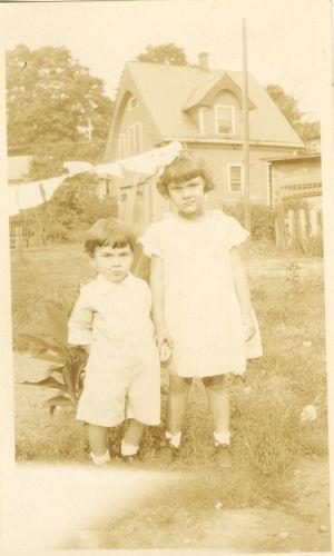 Lorraine and Sonny Lucas abt 1930
