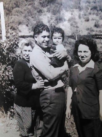 George Pinto family