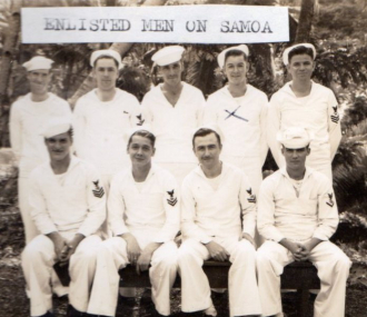 Norman Been in his Navy uniform