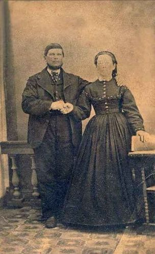 Samuel & Mary (Rife) Lentz, PA c1857