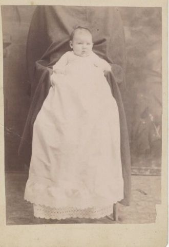Photo of unknown baby, Fort Recovery, Ohio
