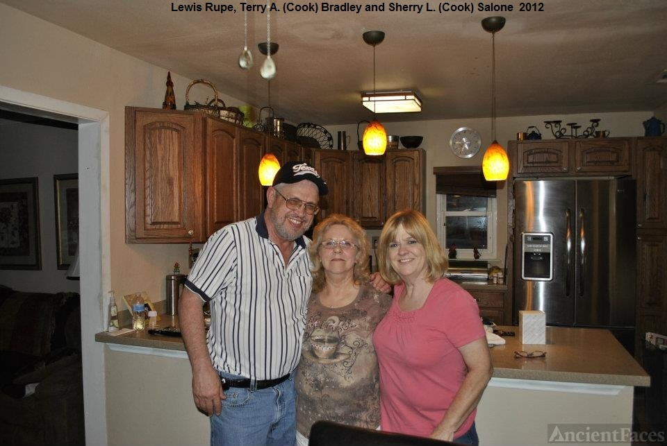 Lew Rupe, Terry Bradley, and Sherry  Cook