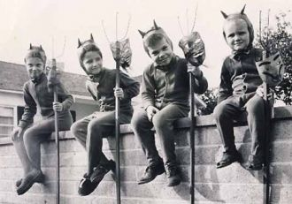 Halloween lil devils