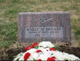 Mabel Margret (Harsted) Mogard Gravemarker, South Dakota