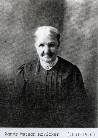 Agnes Hamilton Watson