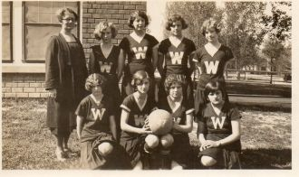 Unknown School Basketball Team