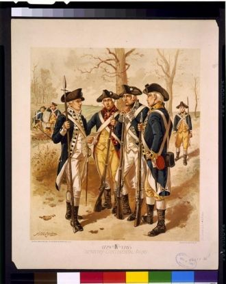 Infantry: Continental Army, 1779-1783, IV / H.A. Ogden ;...
