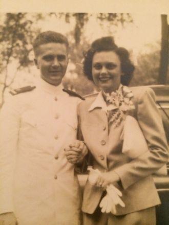 Agnes (Patterson) & Warren Lewis