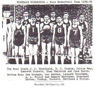 Rosedale High School Basketball Team