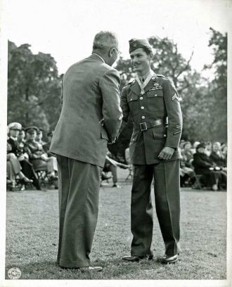 Truman and Desmond Doss, Medal of Honor