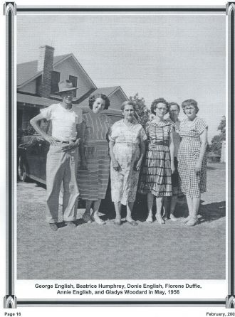 Humphrey and English Family