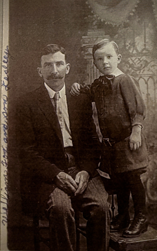 William Fox and his son Leslie