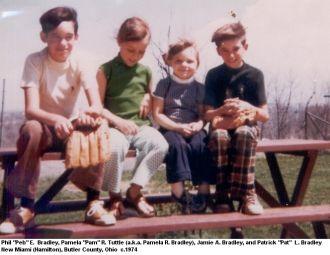 Peb, Pam, Jamie, & Pat Bradley