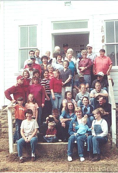 Silvis Cousins Reunion 2002